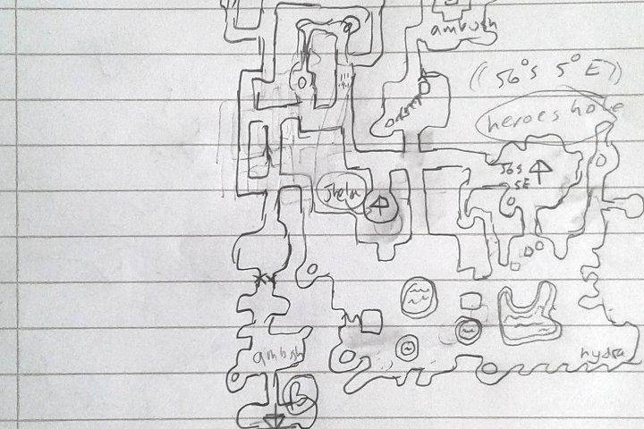 Ultima VI Decodexed on ultima 4 map, ultima v nes map, ultima underworld abyss map, ultima online map, ultima underworld the stygian abyss ps1,